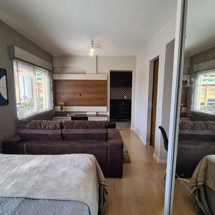Vende-se apartamento mobiliado no Ed. San Vicente em Passo Fundo