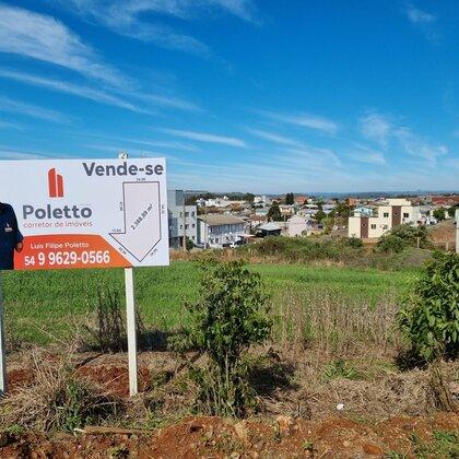 Vende-se terreno na Perimetral de Marau
